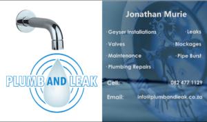 Plumb and Leak